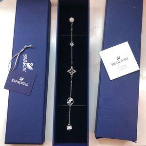 Swarovski Remix Rhodium-plated Crystal Bracelet
